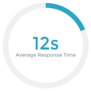 Average Response Time 12s